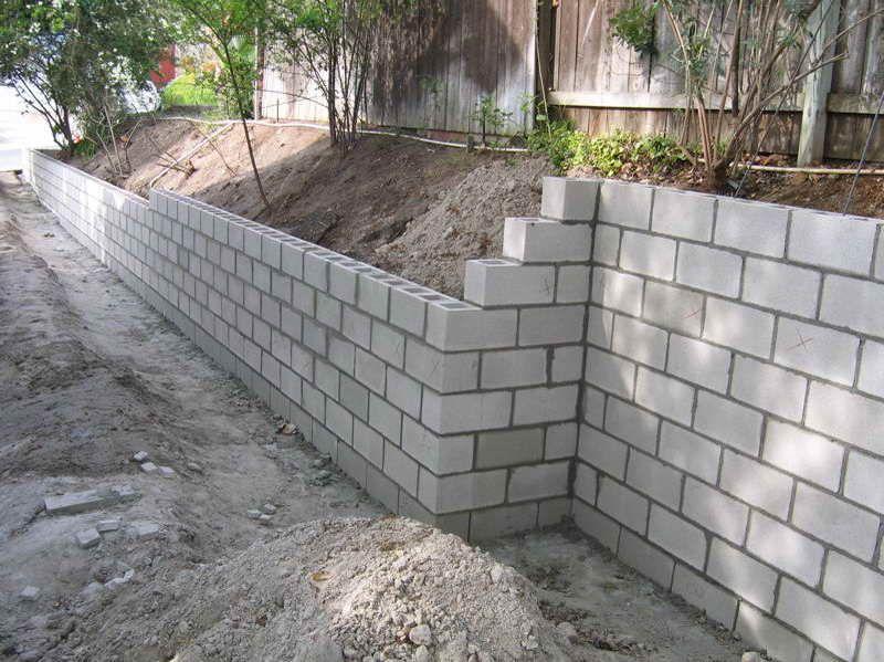 retaining wall blocks El Paso